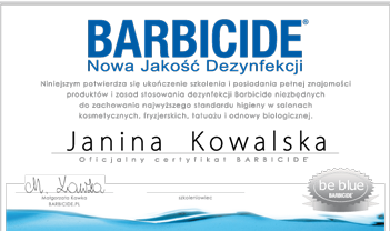 barbicide-certyfikat