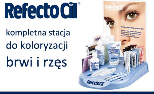 RefectoCil stacja do farbowania brwi i rzęs