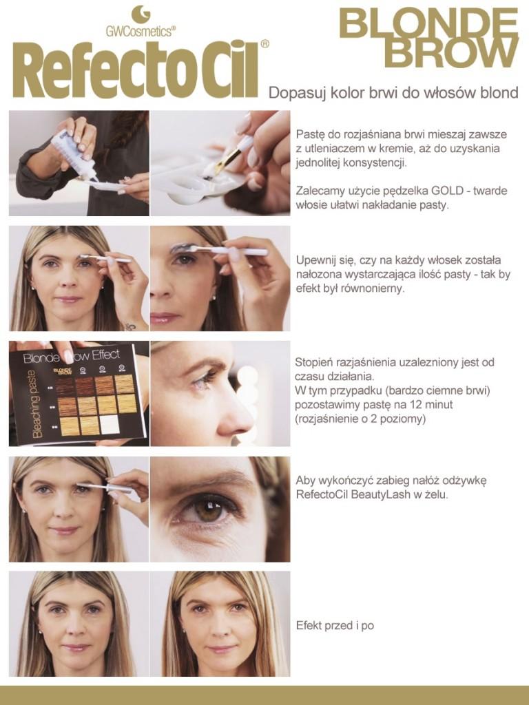 Blond Brow - instrukcja