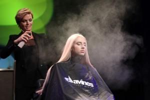 Davines Hair on Stage