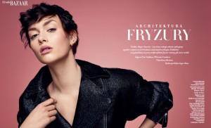 fryzura Rafał Potomski_Harper's Bazaar