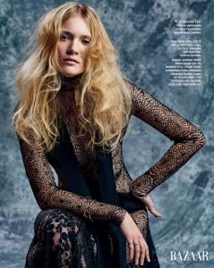 Karolina Chodzeńska dla Harpers Bazaar