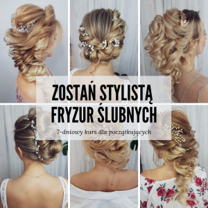 Instagram-zostań stylistą fryzur ślubnych