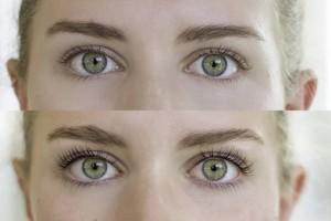 Before & After Eyelash Lift