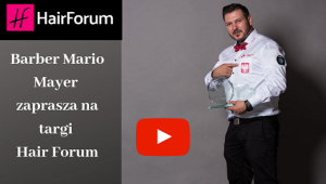 Barber Mario Mayer zaprasza na targi Hair Forum — kopia